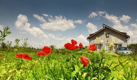 Rural residence Stock Image