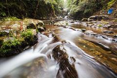 The rural river in China Stock Image