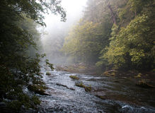 Rural River in early fall Stock Image