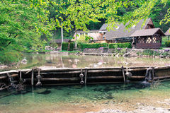 Rural river. Stock Photo