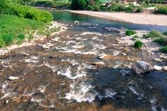 Rural river. Stock Photos