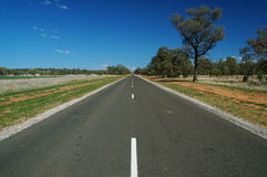 Rural Road. Australian Rural Road and Blue Sky stock images