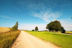Rural road. Royalty Free Stock Image