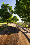The rural road Royalty Free Stock Image