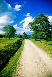 Rural road Royalty Free Stock Photography