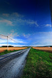 Rural Road Royalty Free Stock Image
