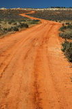 Rural Road. Red Australian Rural Road Royalty Free Stock Photo