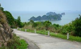 Landscape of Cat Ba Island in North of Vietnam Stock Image