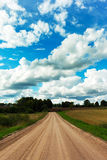 Rural road. Royalty Free Stock Images