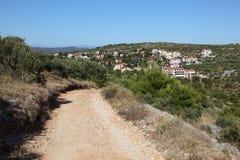 Rural road in Croatia Stock Photos