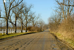 Rural road Stock Photography