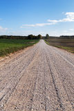 Rural road. Royalty Free Stock Image