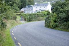Rural Road, Killarney. County Kerry; Ireland Stock Photo