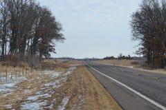 Rural road Royalty Free Stock Image