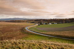 Rural road, Scotland royalty free stock images