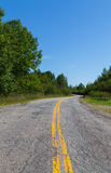 Rural Road in the Summer Royalty Free Stock Photography