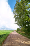 Rural road in summertime. Stock Photography