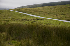 Rural road in Yorkshire Dales Yorkshire England Stock Photography