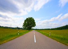 Rural Roads Royalty Free Stock Photos