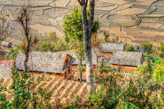 Rural Roofs Royalty Free Stock Image