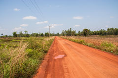 Rural routes Stock Images