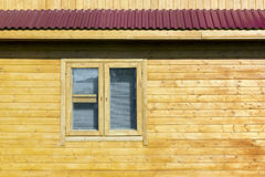 Rural rustic wooden house wall Royalty Free Stock Photos
