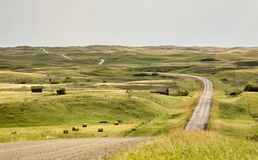 Rural Saskatchewan Royalty Free Stock Photography
