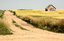 Rural Saskatchewan Royalty Free Stock Photos