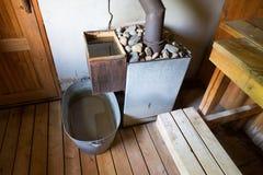 Rural sauna Stock Photo