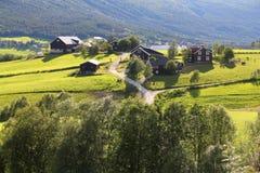 Rural Scandinavia stock photography