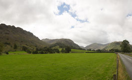 Rural scene in Borrowdale Royalty Free Stock Images