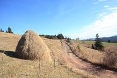 Rural scene in eastern europe Stock Image