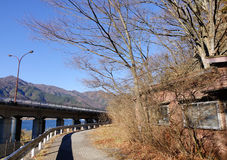 Rural scene in Kawaguchi village, Japan. Rural scene in Kawaguchi village, Saitama, Japan royalty free stock images