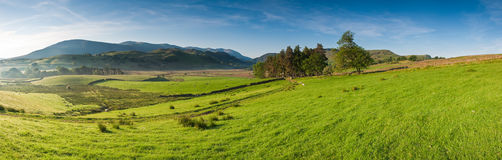 Rural scene, Lake District, UK. Rural scenic landscape, Lake District, UK Royalty Free Stock Image
