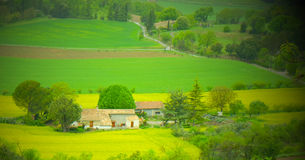 Rural scene southern France Stock Photos