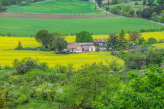 Rural scene southern France Royalty Free Stock Images