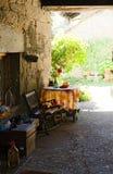 Rural Scene. In a rural village, Spain Royalty Free Stock Photo