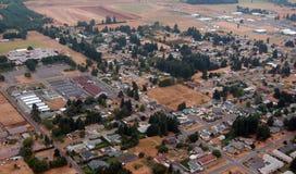 Rural scene, Washington state. Washington state farmland is abundant in the region's many river valleys stock photos