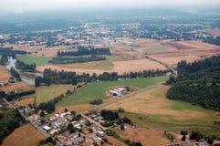 Rural scene, Washington state. Washington state farmland is abundant in the region's many river valleys royalty free stock photography