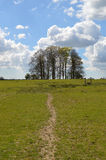 Rural scene in the West Sussex countryside. Royalty Free Stock Photography