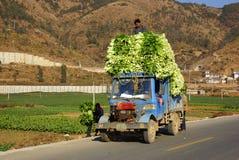 Rural scenery around Erhai lake and Dali, Yunnan province, China Royalty Free Stock Photography