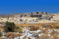 Rural scenery at Crete island in Greece Royalty Free Stock Photo