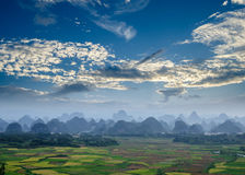 Rural scenery in Guilin Royalty Free Stock Images
