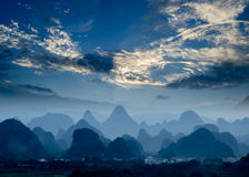 Rural scenery in Guilin Stock Photos