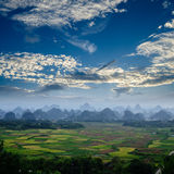Rural scenery in Guilin Royalty Free Stock Image