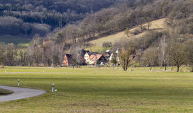 Rural scenery in Hohenlohe Royalty Free Stock Image