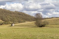 Rural scenery in Hohenlohe Stock Photos