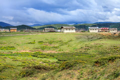Rural Scenery, Shangri-La Royalty Free Stock Photography