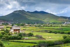 Rural Scenery, Shangri-La Royalty Free Stock Image