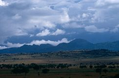 Rural scenery, Uganda Stock Image